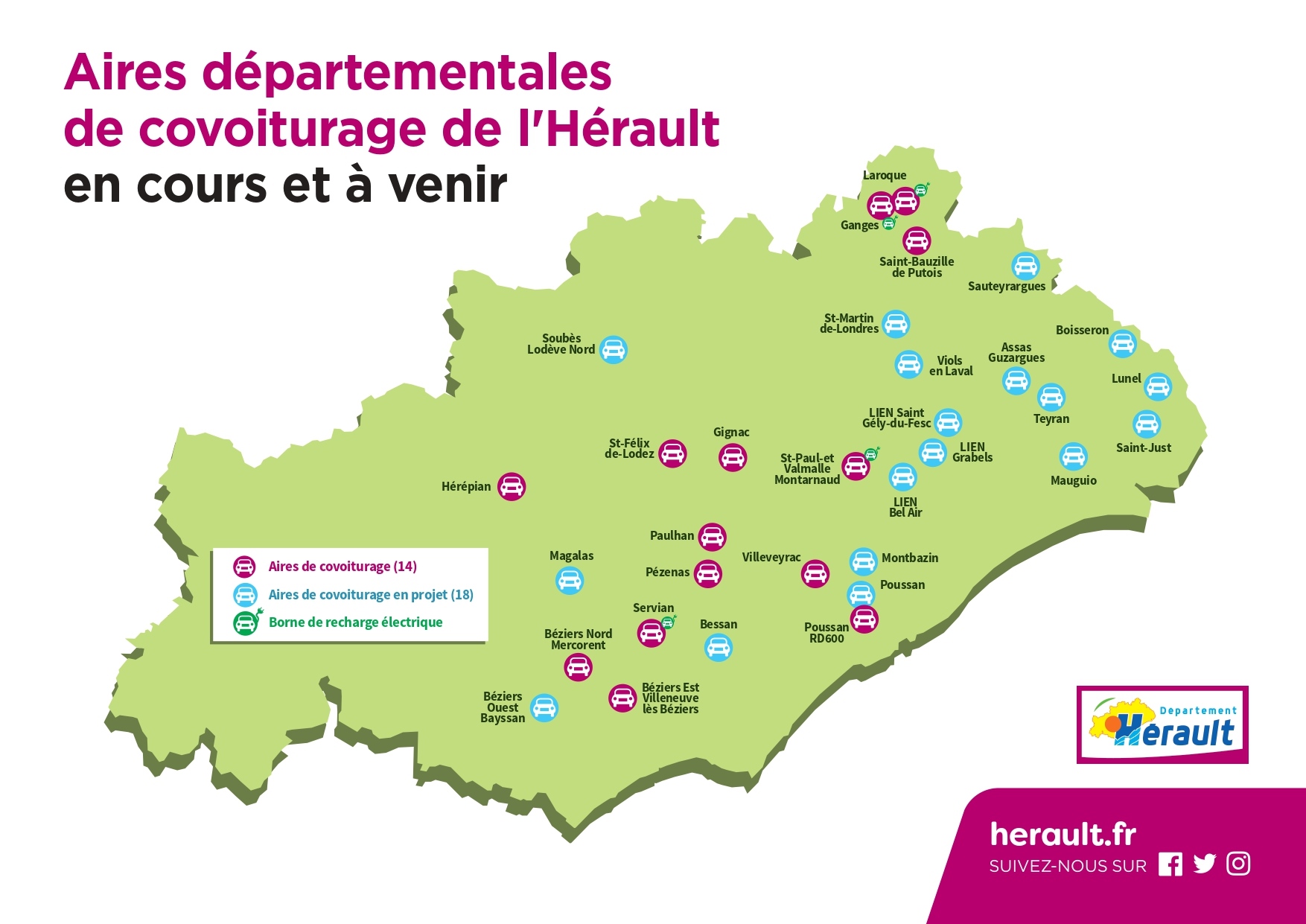 Carte covoiturage